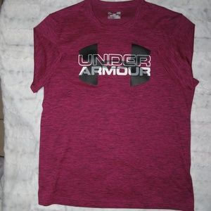 UNDER ARMOUR WOMEN'S SIZE LARGE ACTIVEWEAR TOP - P